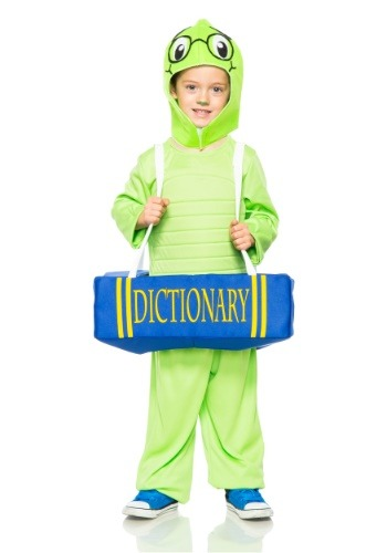Child Book Worm Costume