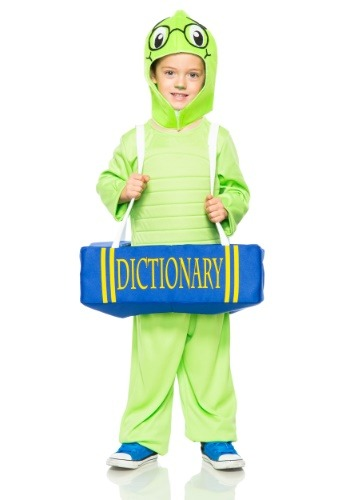 Image of Book Worm Costume for Toddlers