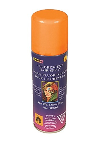 Florescent Orange Hair Spray