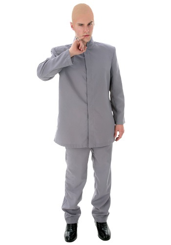 Plus Size Gray Suit