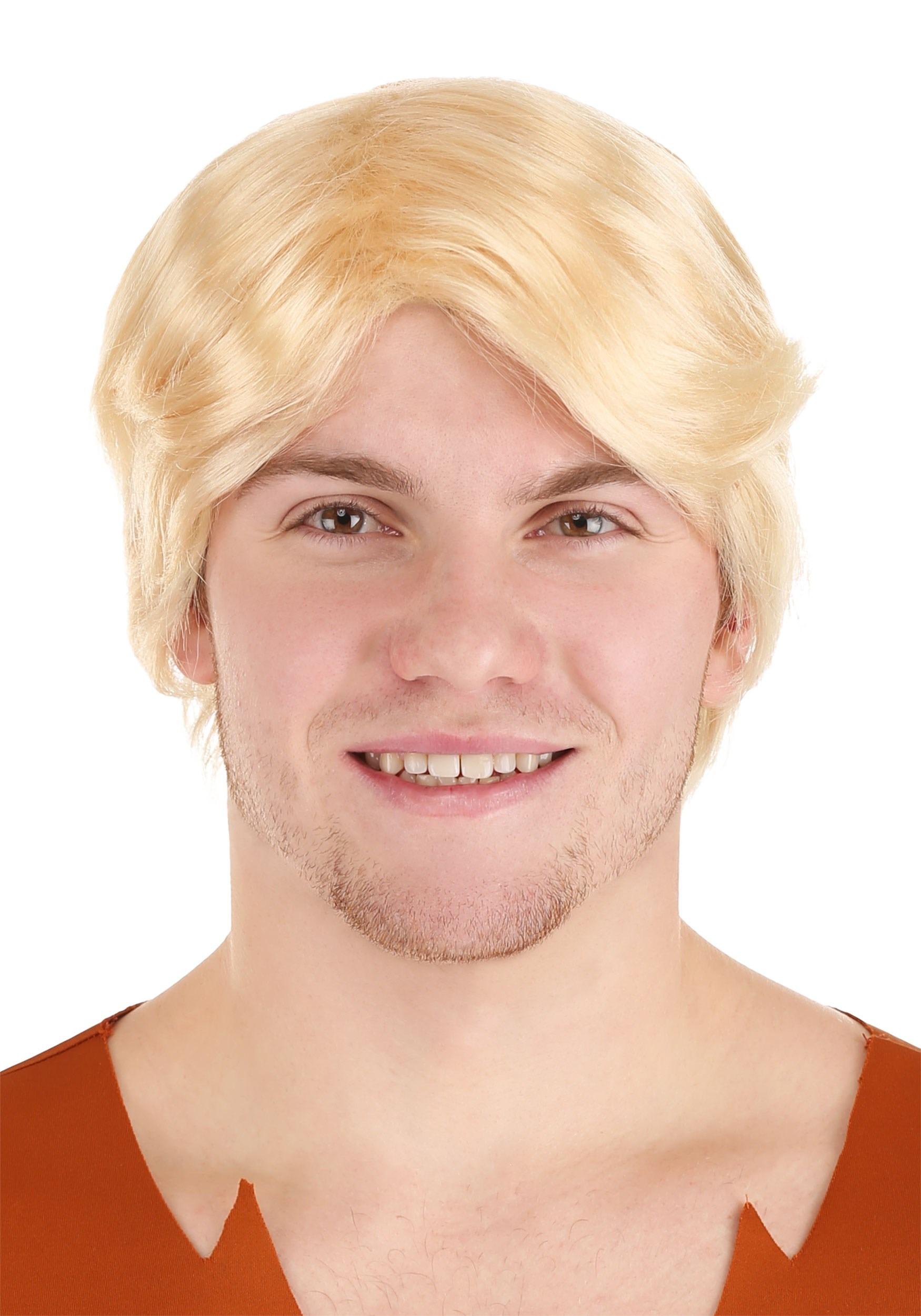 deluxe caveman neighbor wig