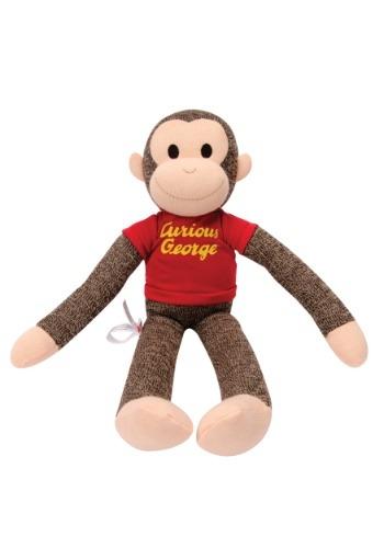 Sock Monkey Curious George Stuffed Figure