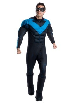 Nightwing Costume For Kids Robin Costumes - Adult...