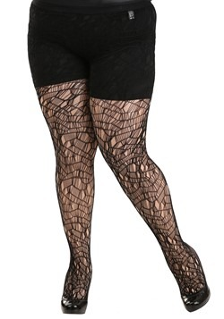 Plus Size Ripped Tights