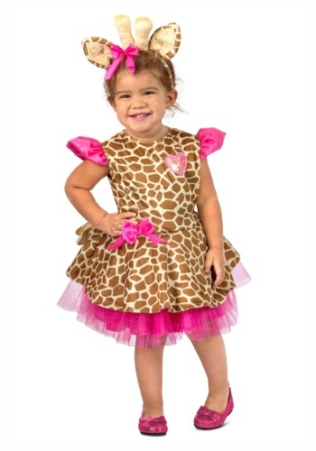 Image of Gigi Giraffe Costume for a Toddler