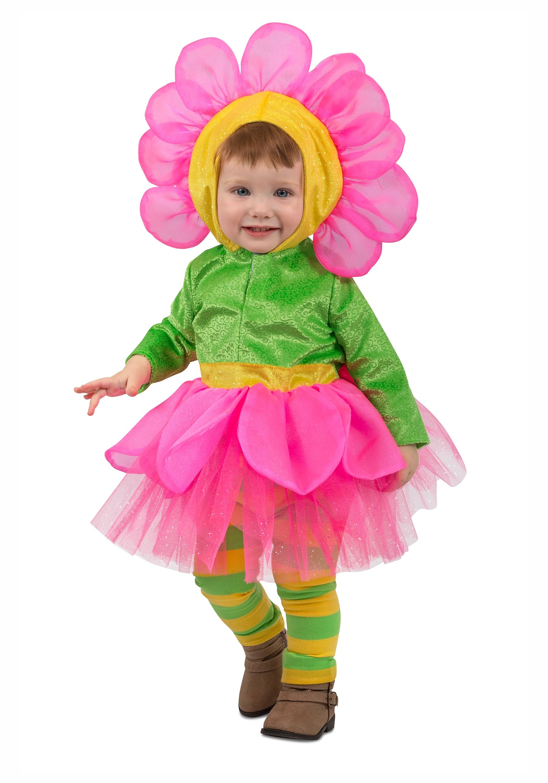 Girls Flower Costume For A Toddler