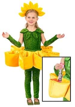 Girls Flower Petal Candy Catcher Costume New