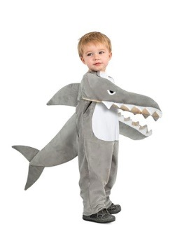 Child Chomping Shark Costume1