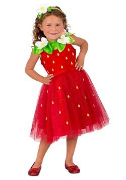 Girls Strawberry Sweetie Costume