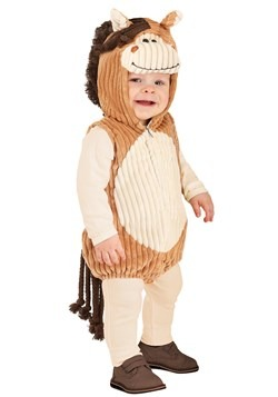 Toddler Charlie the Corduroy Horse Costume