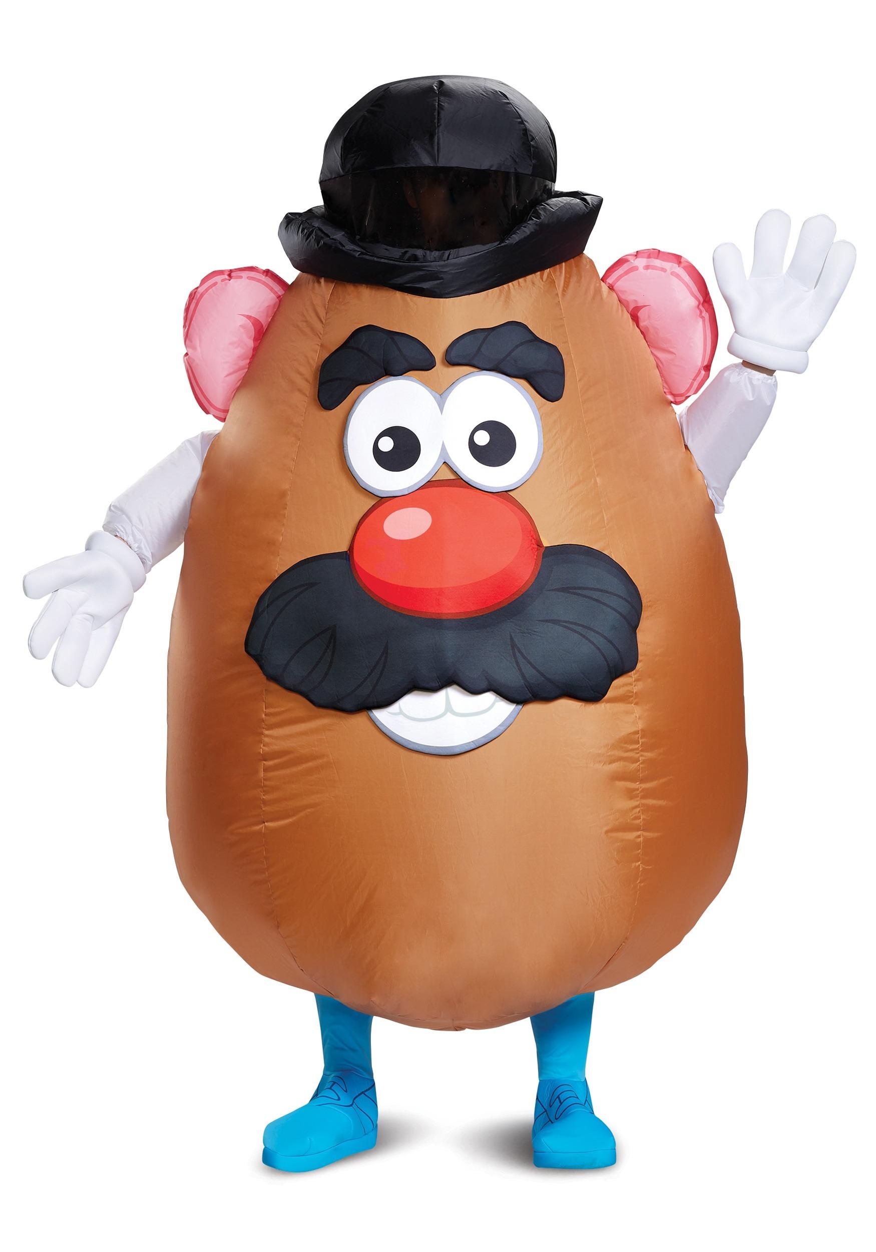 inflatable mr potato head adult costume