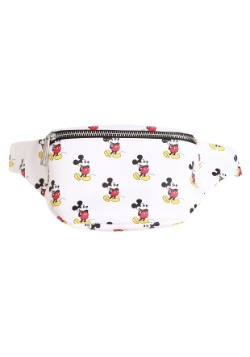 All-Over Mickey Mouse Faux Leather Fanny Pack