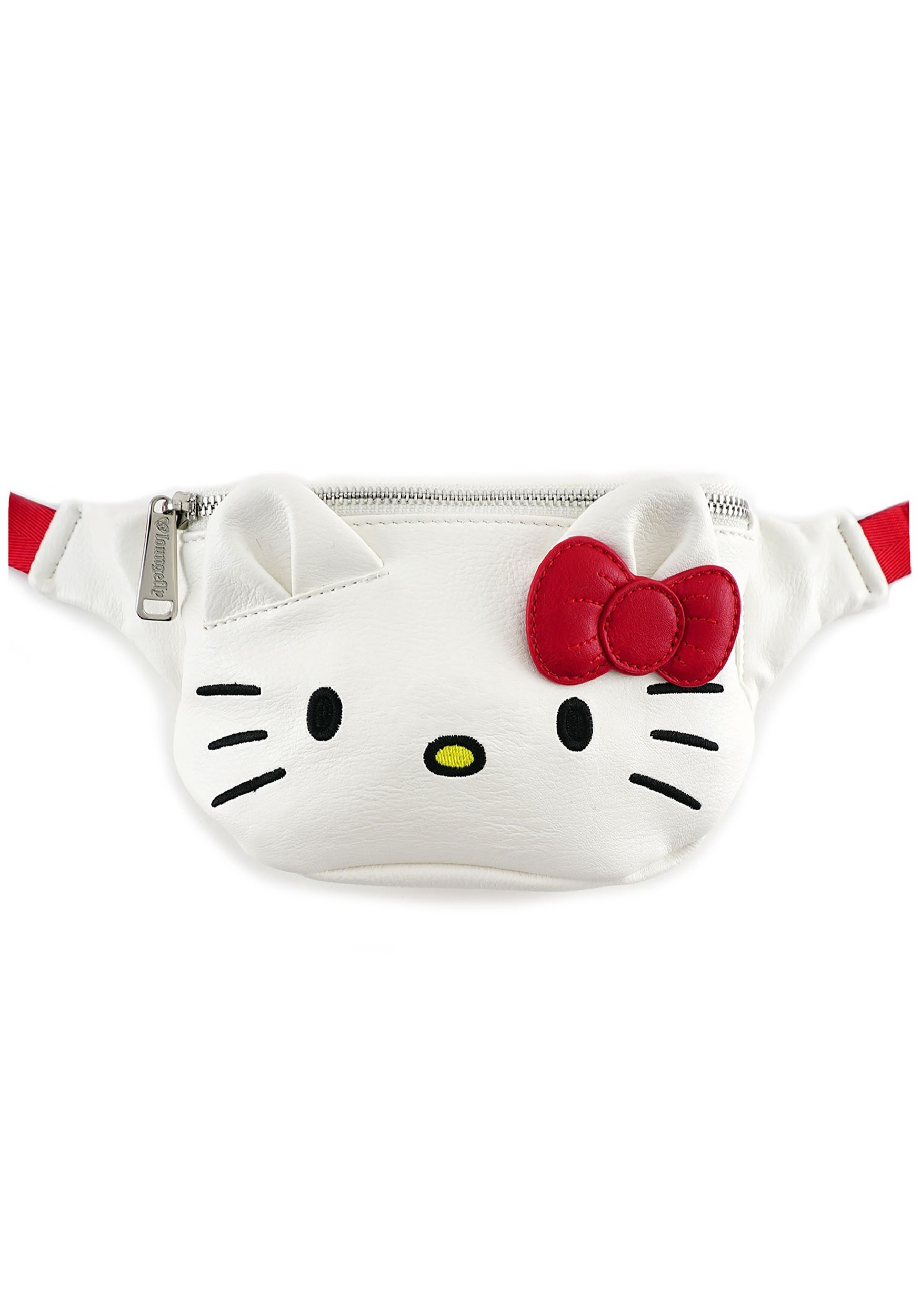 36b6b3504d4f Hello Kitty Loungefly Faux Leather Fanny Pack