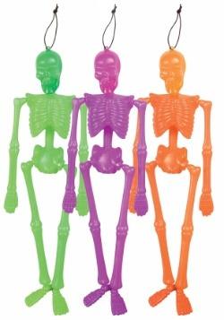 Hanging Neon Skeleton1