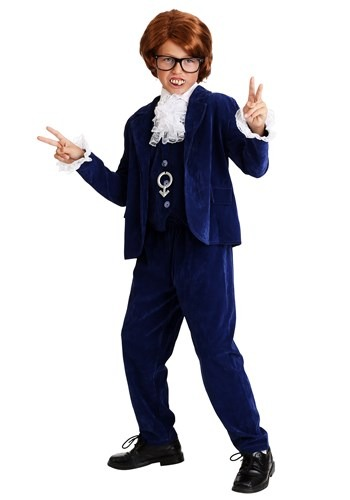 Click Here to buy Deluxe Kids 60s Swinger Costume from HalloweenCostumes, USA Funds & Shipping