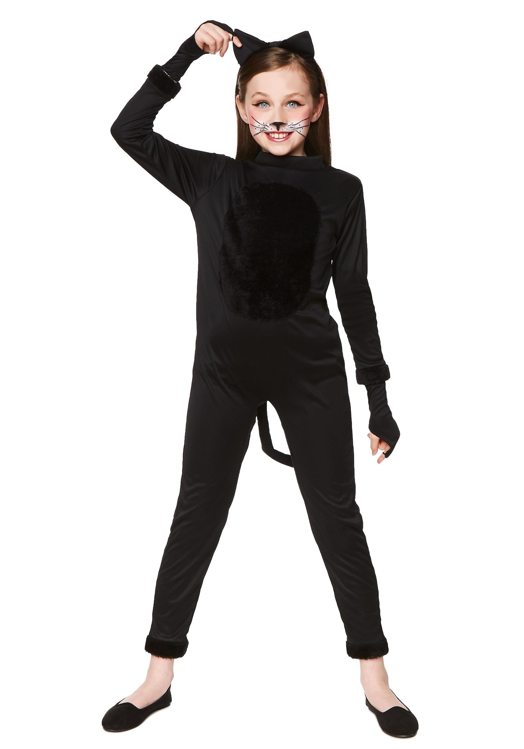 bba294bc1 Black Cat Girl s Costume