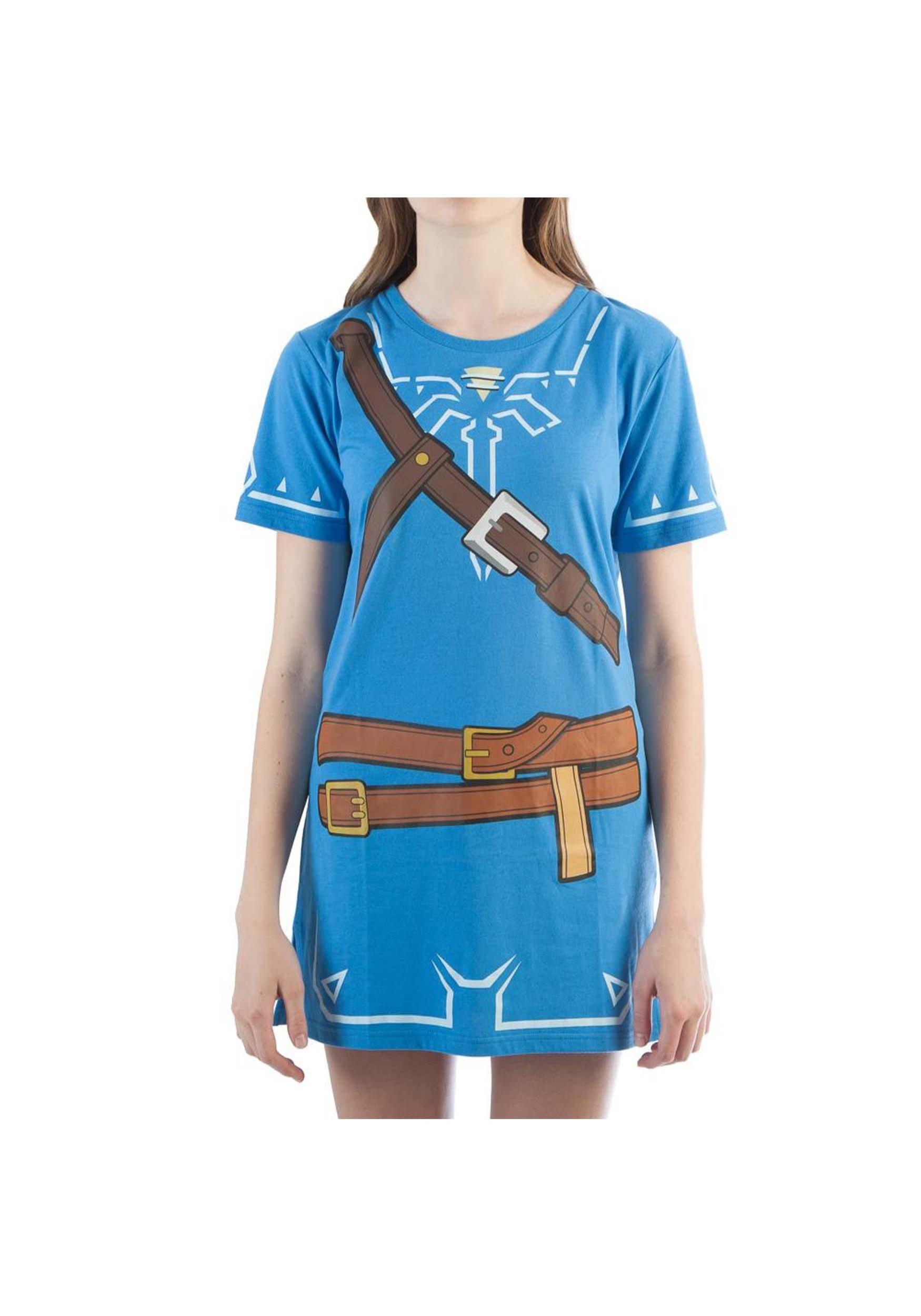 c5835b159 Women's Breath of the Wild Zelda Link Cosplay Costume Tunic