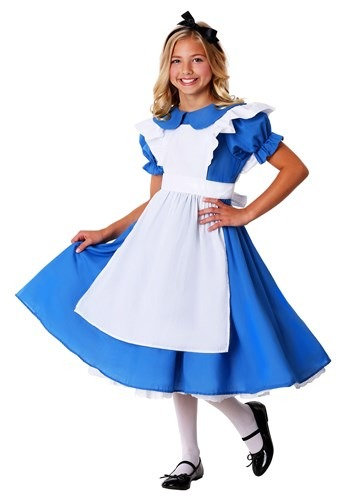 Click Here to buy Kids Deluxe Alice from HalloweenCostumes, USA Funds & Shipping