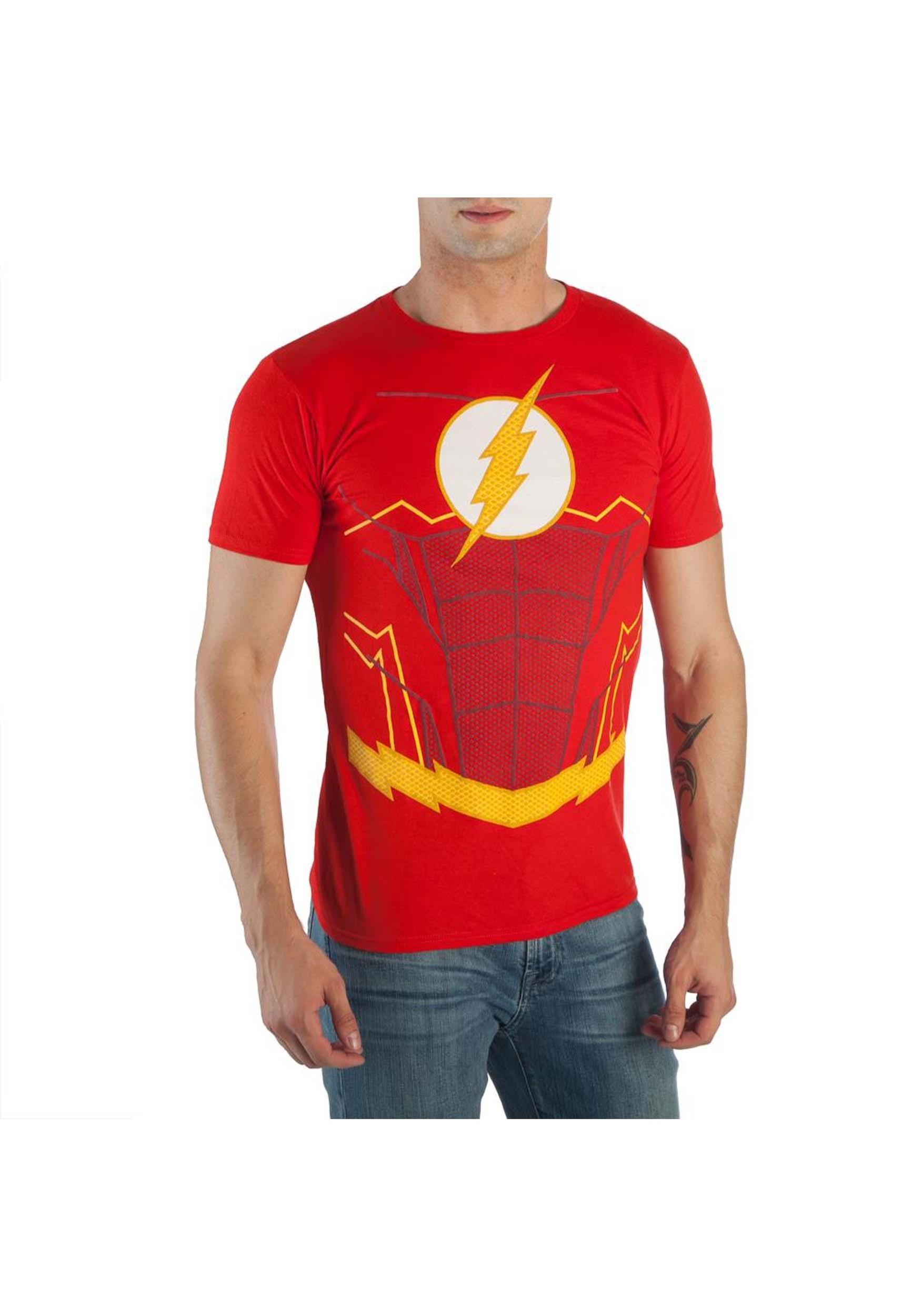 Shirt Up Men's Costume Suit Flash T rshCQdt