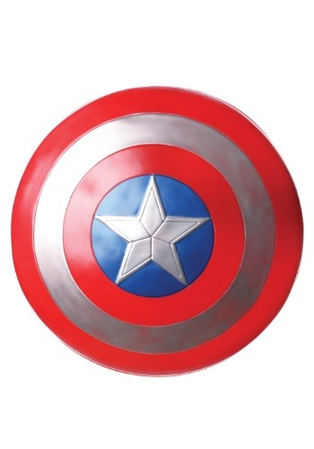 Click Here to buy 12  Captain America Shield from HalloweenCostumes, USA Funds & Shipping