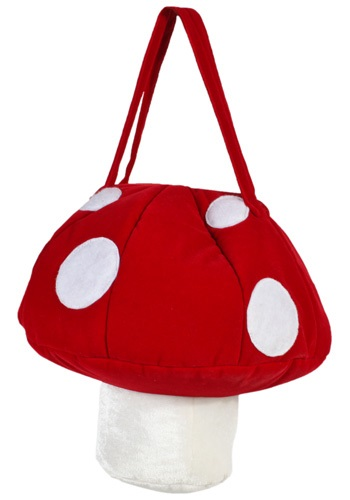 You'll have a Super Nintendo freak out session with you see this plush Mushroom Purse. Pair it with a Mario costume or wear it casually any time of year. It's the perfect way to keep your valuables safe while you accessorize. #purse