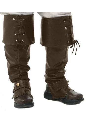 Deluxe Brown Boot Tops for Men