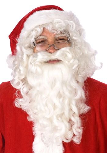 Santa Claus Wig and Beard Set upd