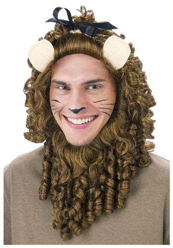 Image of Deluxe Curly Lion Wig