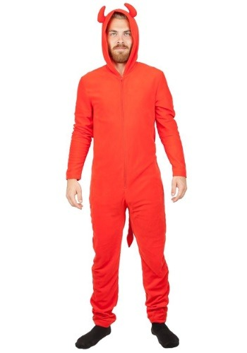 Click Here to buy Devil Red Union Suit from HalloweenCostumes, USA Funds & Shipping