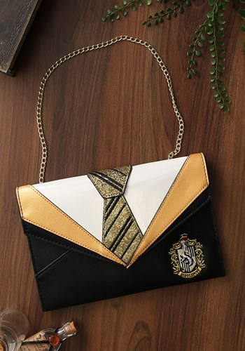 Click Here to buy Harry Potter Hufflepuff Danielle Nicole Clutch from HalloweenCostumes, CDN Funds