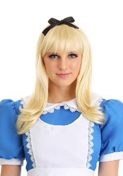 Adult Blonde Alice Wig