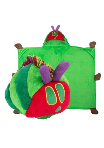 the Very Hungry Caterpillar Comfy Critter Costume Blanket
