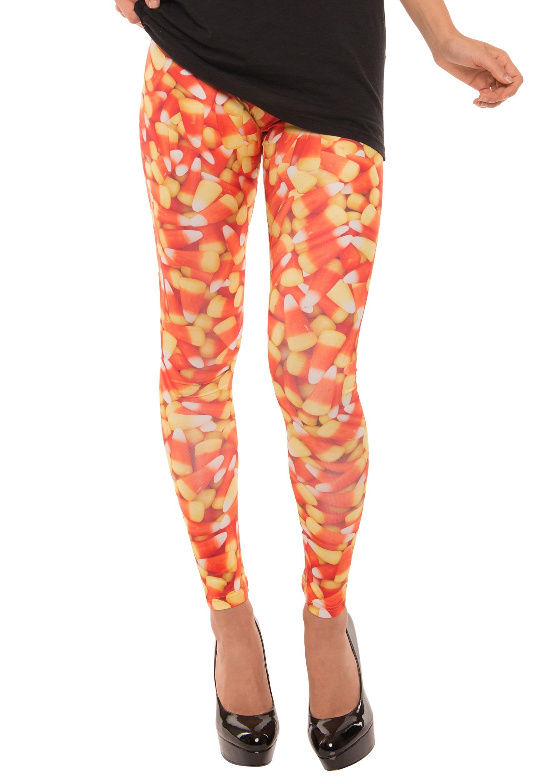 de346aa2f58e84 Women's Candy Corn Leggings
