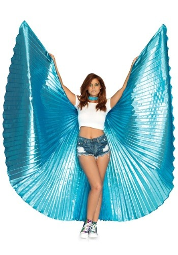 Click Here to buy Goddess Blue Theatrical Wings from HalloweenCostumes, CDN Funds