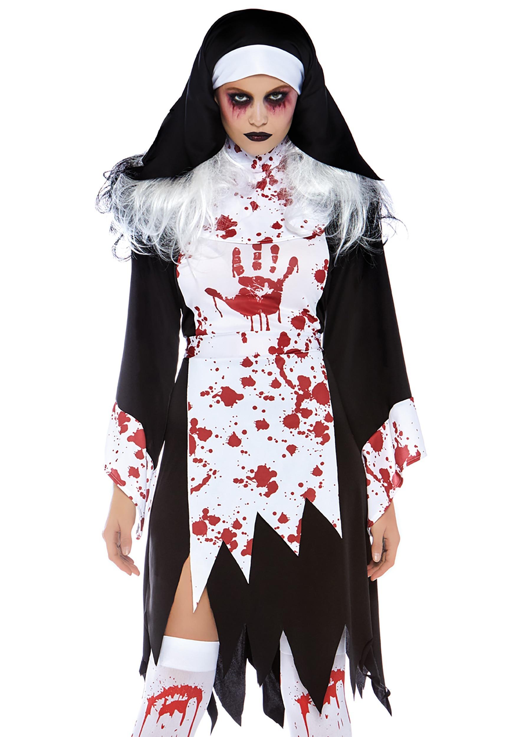 Good Deadly Nun Adult Costume