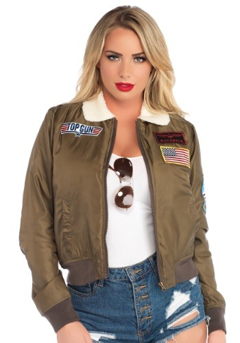 Top Gun Adult Bomber Costume Jacket