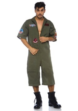 Top Gun Men's Flight Suit Romper