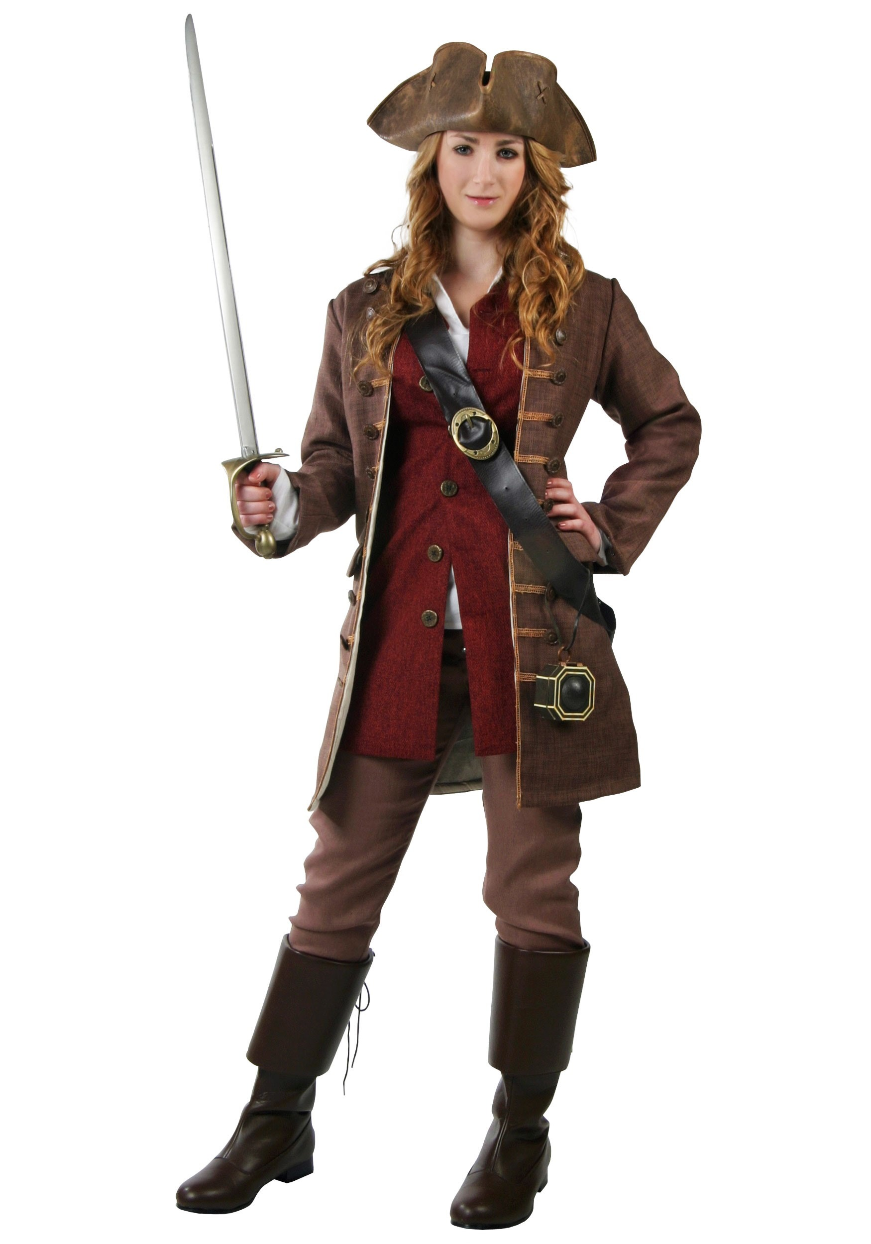 Unique This Womens Deckhand Darlin Pirate Costume Is An Authentic Womens Pirate Wench Costume Get This Deluxe Pirate Costume For Halloween Or Theater Production Sail The High Seas In Style In This Deckhand Darlin Pirate Costume This