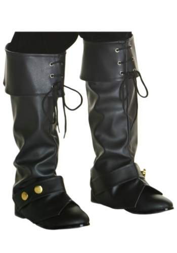 Deluxe Kids Pirate Boot Tops