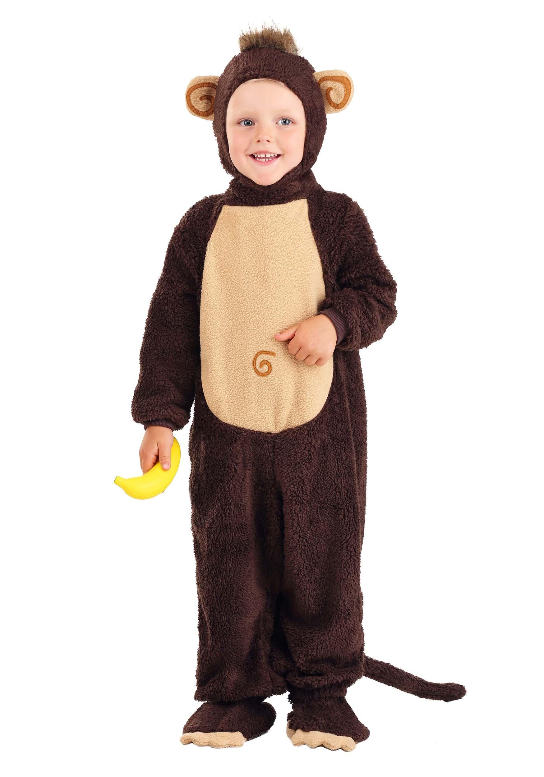 Infant Monkey Costume Toddler Monkey Halloween Costumes