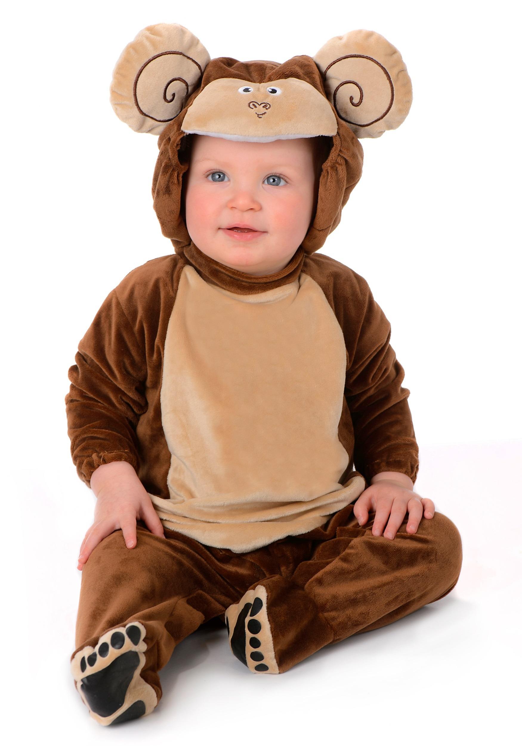 Infant Little Monkey Costume  sc 1 st  Halloween Costumes & Little Monkey Costume for an Infant