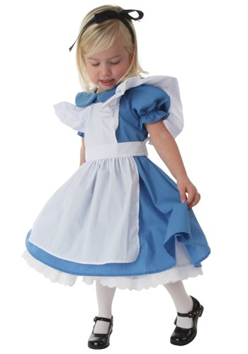Click Here to buy Deluxe Toddler Alice Costume from HalloweenCostumes, USA Funds & Shipping