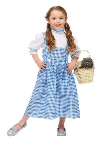 Click Here to buy Toddler Kansas Girl Dress from HalloweenCostumes, USA Funds & Shipping