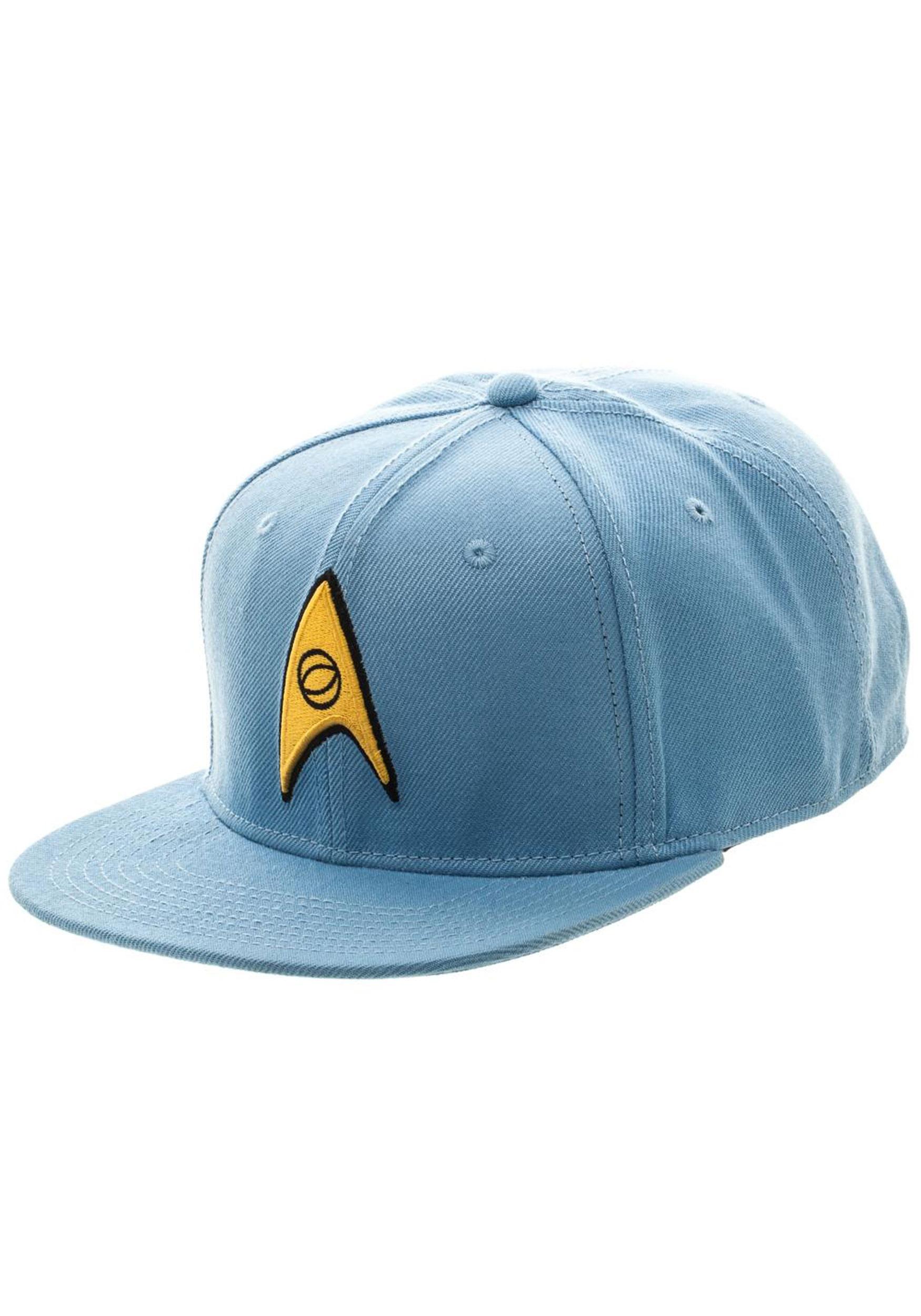 2928547c3 Star Trek Blue Snapback Hat