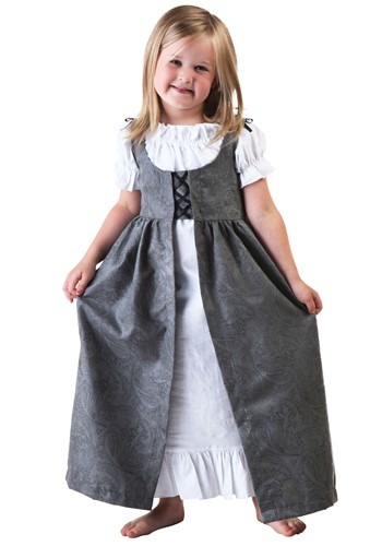 Click Here to buy Toddler Girls Renaissance Faire Costume from HalloweenCostumes, USA Funds & Shipping