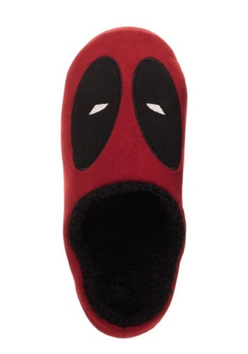 Deadpool Red Scuff Slippers
