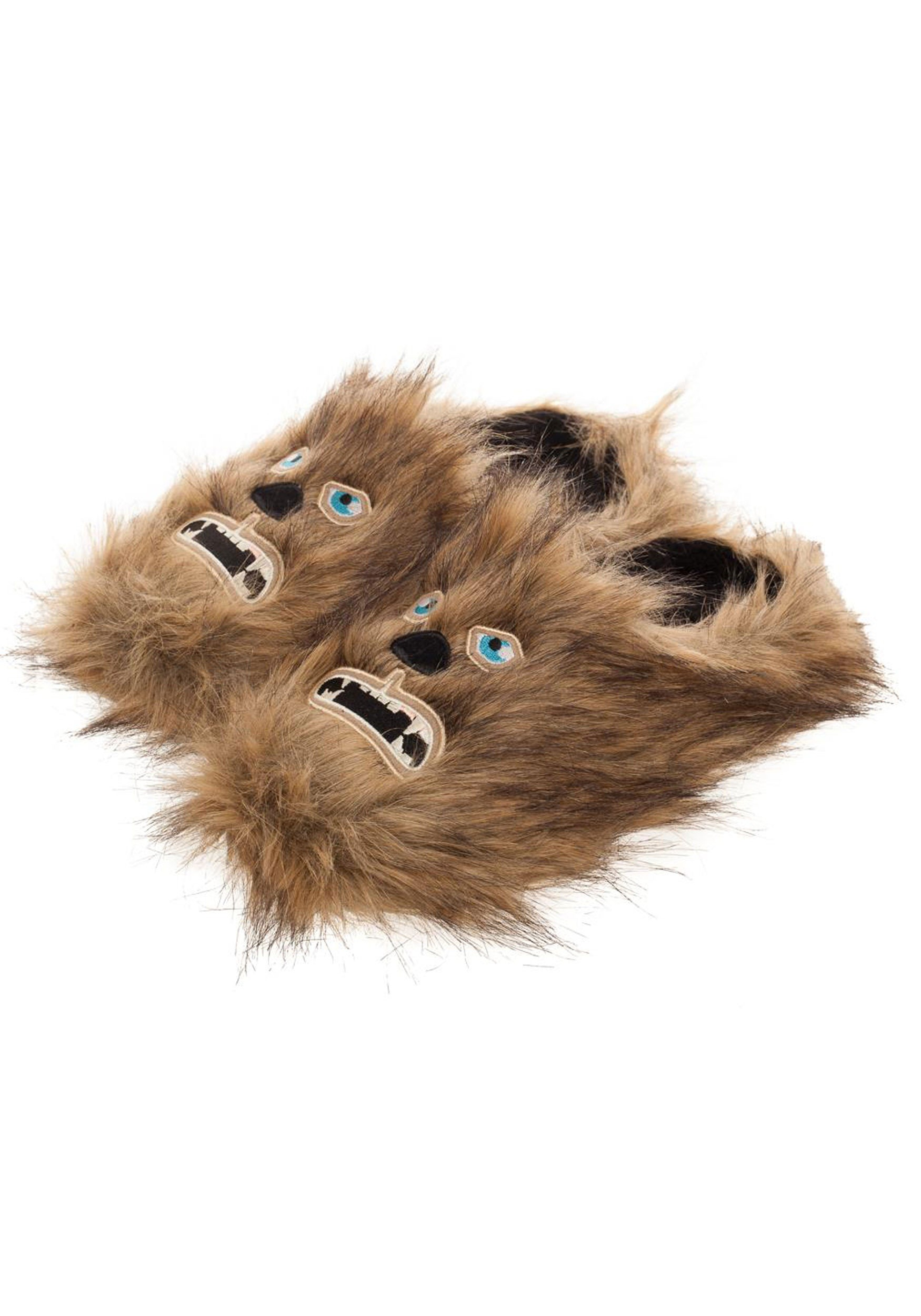 c0f3aa51075e The Adult Star Wars Chewbacca Scuff Slippers