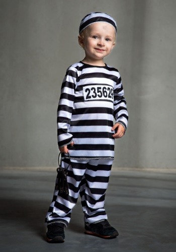 Toddler Prisoner Costume