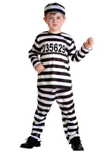 Toddler Prisoner Costume – Size: 12mo – Polyester