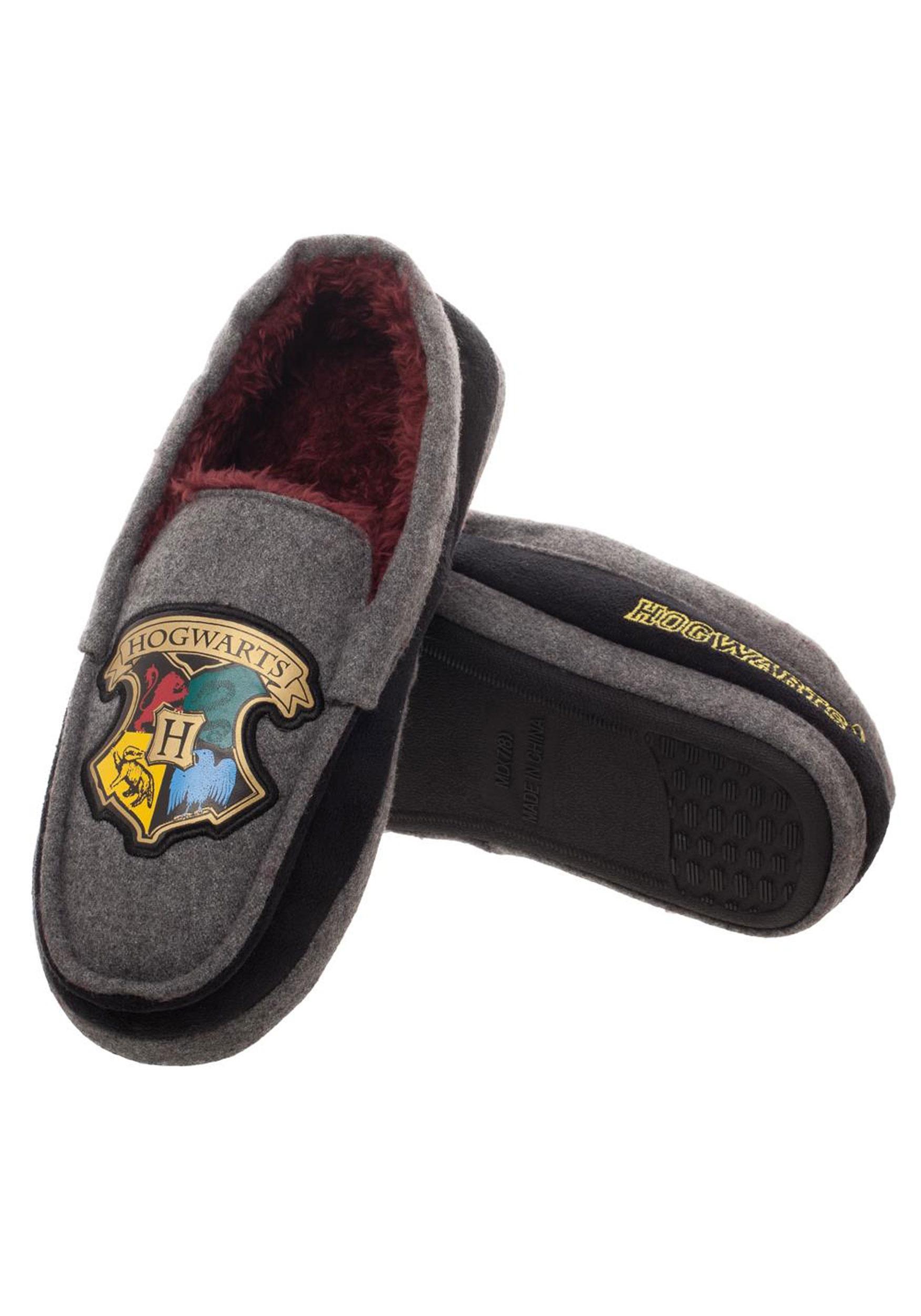 c11465a63f789 Adult Harry Potter Hogwarts Crest Moccasins